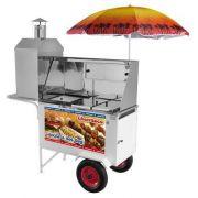 Carrinho  3 x 1 ( Churrasco Hot-Dog Lanches) Armon