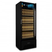 Cervejeira Expositor 497 Litros VN50AH All Black  Metalfrio