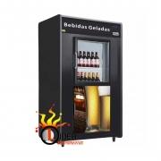 Cervejeira Mini Câmara para Bebidas Capacidade para 20 Caixas Frilux Modelo Lider
