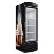 Cervejeira Porta de Vidro 572 Litros (8 Caixas de Garrafas ) Lançamento-Metalfrio