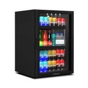 Expositor Refrigerador All Black  para Balcões VB11 97 Litros Metalfrio