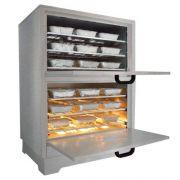 Marmiteiro Estufa Elétrica para 50 Marmitas em Aço Inox Metalmaq