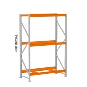 Mini Porta Pallet 3 Níveis 2,00 x 1,80 x 080 Modulo Inicial Amapá