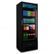 Refrigerador Expositor  406 Litros VB40 All Black Metalfrio