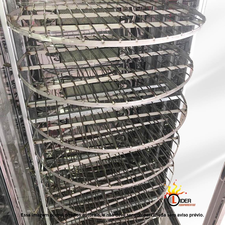 Assador Multiuso Giratório para até 120 Kg 56 Frangos  Master Grill
