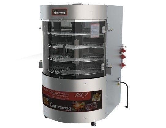 Assador Multiuso para Frangos  Carnes e Outros ARV 75 Kilos Gastromaq