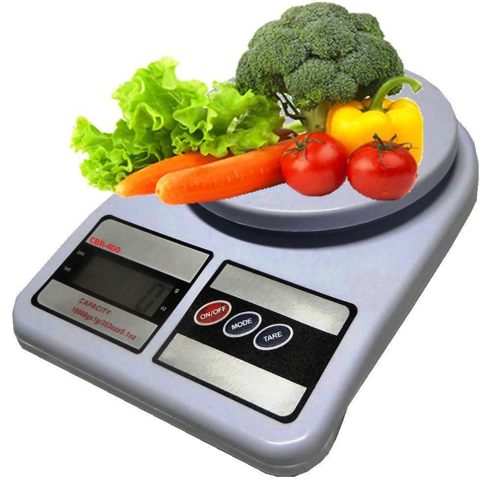 Balança Digital para Cozinha Alta Precisão 1 Gr Até  7 Kg