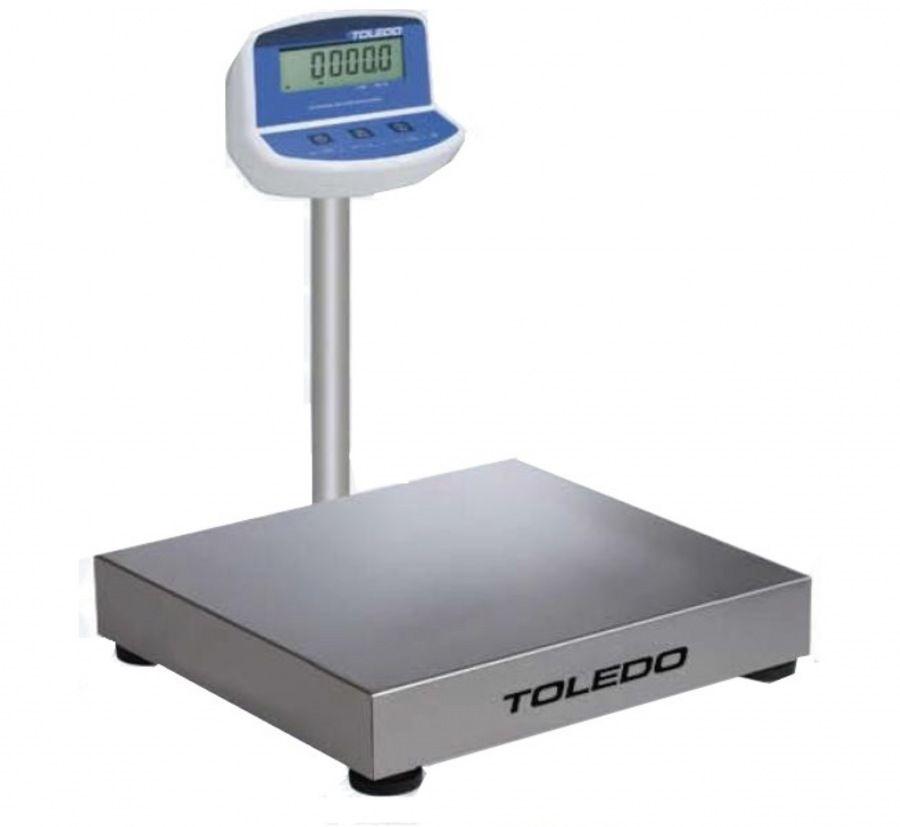 Balança Eletrônica Plataforma 50 x 50 Inox 300 Kg  Toledo