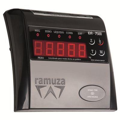 Balança Industrial Coluna Base Inox 50x50 300Kg Ramuza