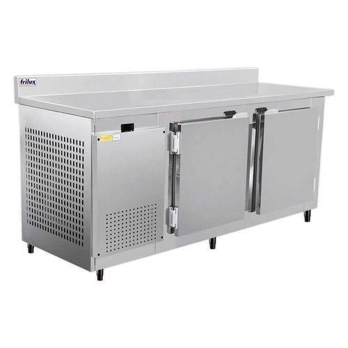 Balcão de Serviço Inox  para Congelados 2 Portas 1,90m Frilux