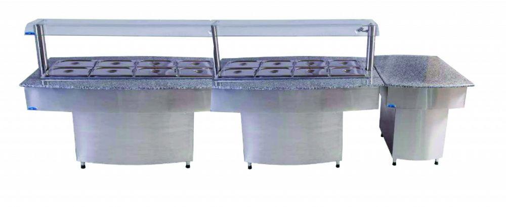 Buffet Premium Completo Quente & Frio + Modulo  Klima
