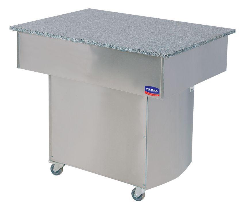 Buffet Premium  Quente e  Frio  Para 10 Cubas Quentes 5 Refrigerada + Modulo Klima