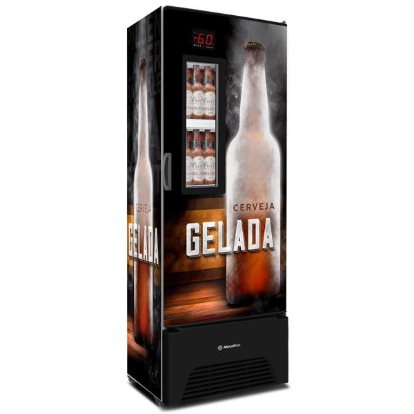 Cervejeira 572 Litros c/ Controlador de Temperatura -2°C / -6°C Lançamento Metalfrio VN50AF