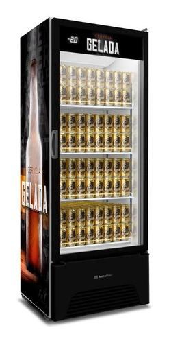 Cervejeira Expositor 497 Litros VN50AH Optima  Metalfrio-Lançamento