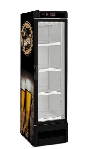 Cervejeira  Expositor vertical porta de vidro 324 litros VN28RB - Metalfrio
