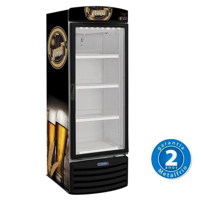 Cervejeira Porta de Vidro 572 Litros (8 Caixas de Garrafas ) Metalfrio