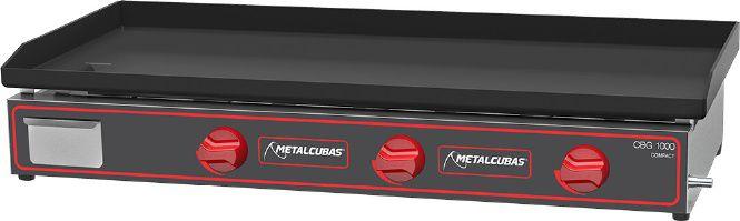 Chapa Bifeteira a Gas de Luxo  CBG-100X45  Metalcubas