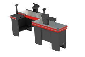 Check Out Duplo 2.60mm  Lado Direito  Esquerdo Completo C/Furação Balança 8217 Innal