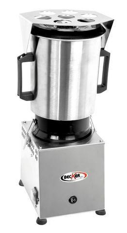 Cutter Alto Rendimento Robuster 6 Litros Inox  Becker