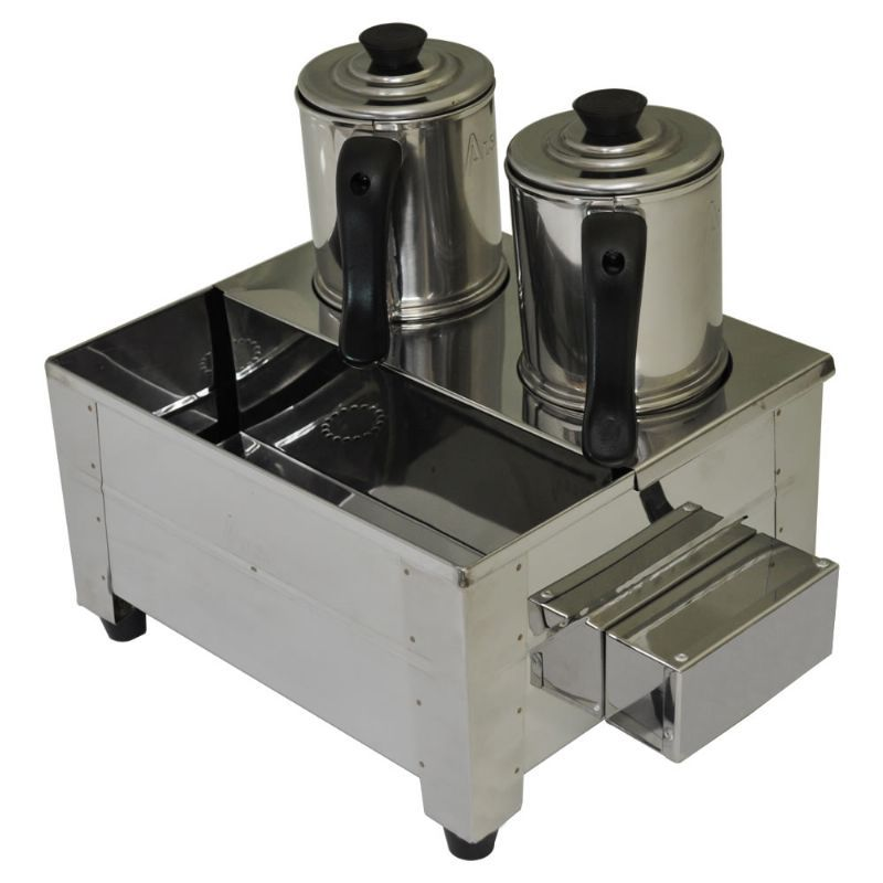 Esterilizador 2 Bules C/Termostato Inox