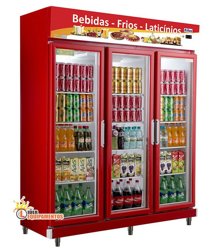 Expositor Refrigerador 3 Portas 1050 Litros 1,60m  Frilux