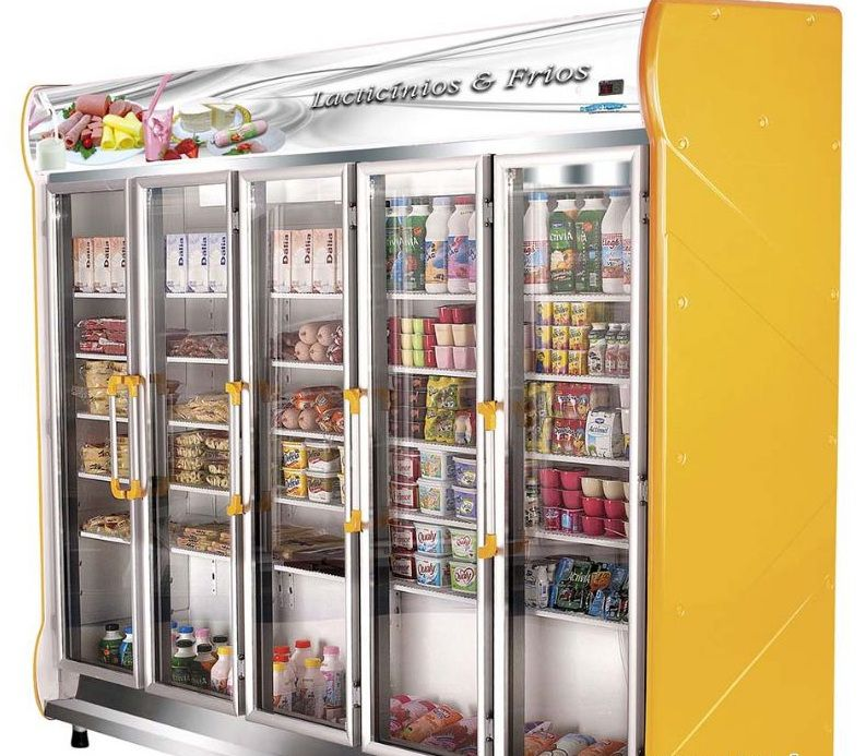 Expositor Auto Serviço 5 Portas Frios e Laticínios 1.756 Litros Klima