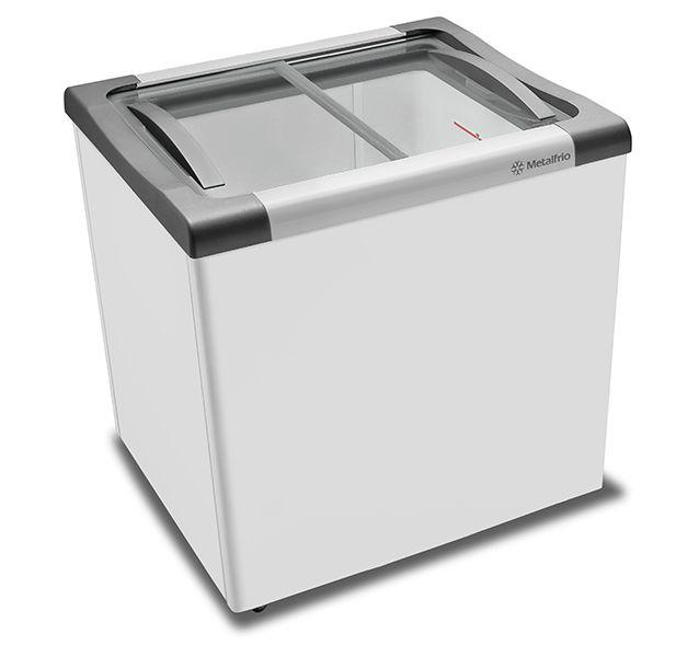 Freezer  Para Sorvete 180 Litros  NF-20 Metalfrio com iluminação Led -127v