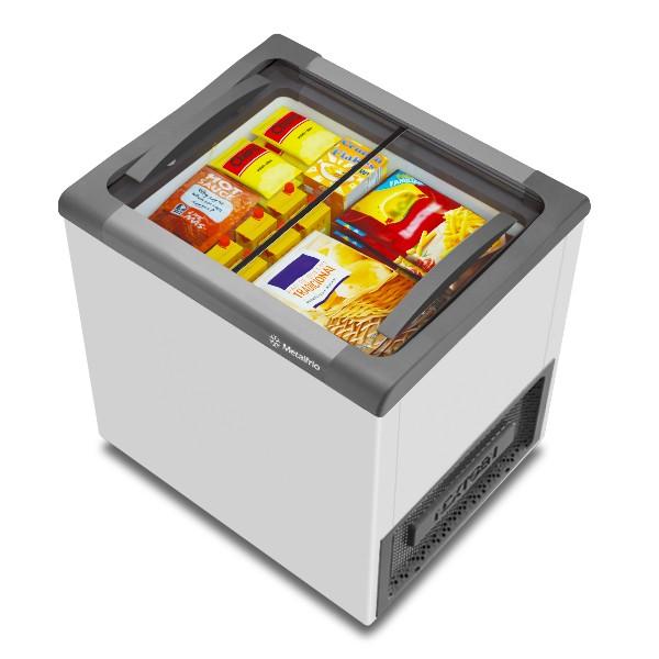 Freezer para Sorvete e Congelados  NF20 Supra 180 Litros  Metalfrio