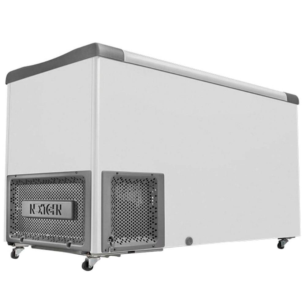 Freezer Para Sorvete NF 40 Tampas de Vidro  388 Litros Metalfrio