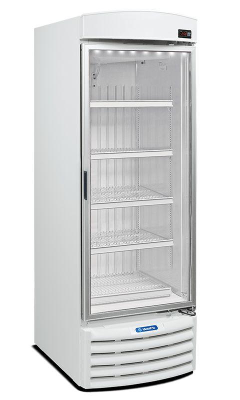 Freezer Vertical Para Sorvetes e Congelados  -18°C/-22°C 572 Litros VF-50F Metalfrio