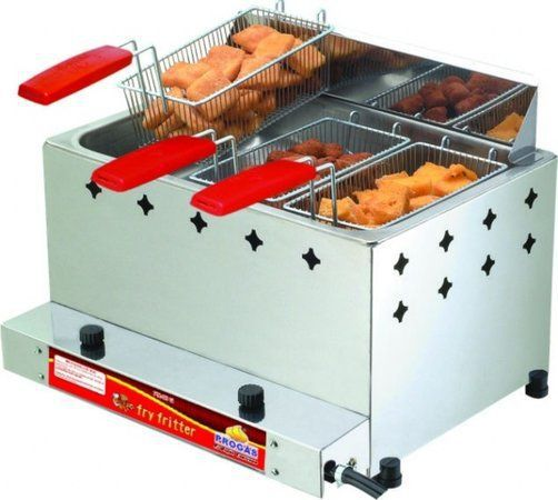Fritadeira a Gás 15 Litros  com 3 Cestos  PR-30G Progás