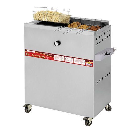 Fritadeira a Gás Água e Óleo 30 Litros PR-3000 BPG Progás