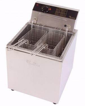 Fritadeira Eletrica a Óleo e Aguá FAO 20 litros de Mesa Monarcha