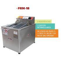 Fritadeira Elétrica Água e Óleo 18 Litros 8.000W  Mesa FRM-18 Skymsen