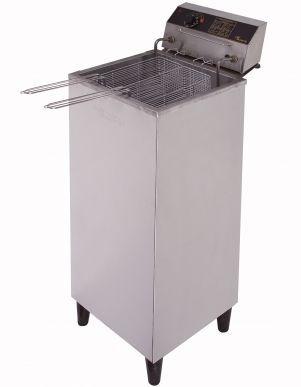 Fritadeira Elétrica Água e Óleo  20 litros  5.000W  Inox Monarcha