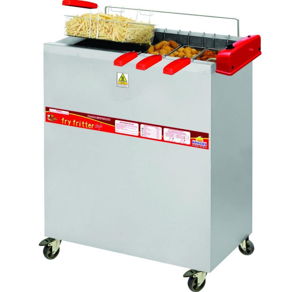 Fritadeira Elétrica Água e Óleo 30 Litros PR-3000 Style Progás