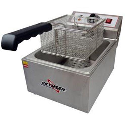 Fritadeira Eletrica Inox 1 Cuba 5,5 Litros de óleo FE-10-N skymsen