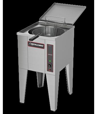 Fritador Elétrico Água e Óleo FAO 1 C 25 Litros Metalcubas