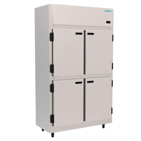 Geladeira Refrigerador Comercial Inox  4 Portas 765 Litros   Kofisa