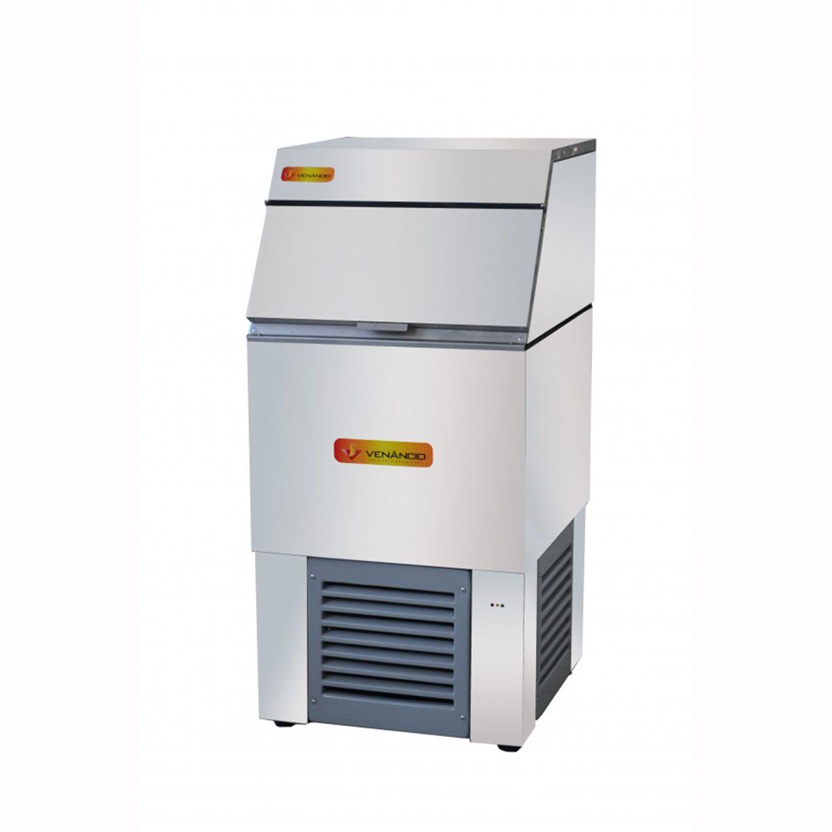 Máquina de Gelo Cubo Produção de Até 75 Kg /dia  MFG75  Venâncio