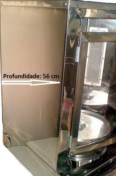 Máquina para Churrasco Grego de Bancada Dupla - Manual