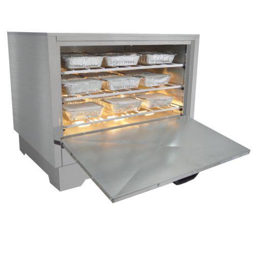 Marmiteiro Estufa Elétrica para 27 Marmitas em Aço Inox Metalmaq