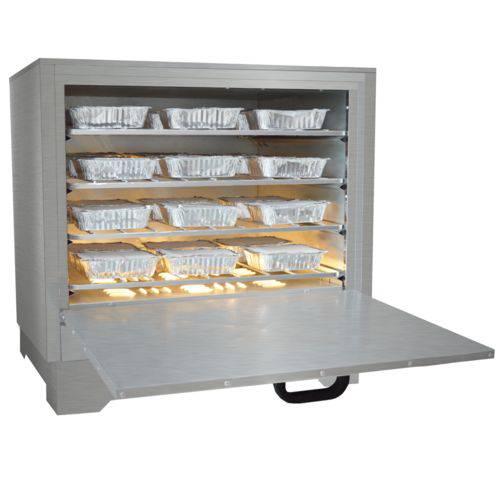 Marmiteiro Estufa Elétrica para 36 Marmitas em Aço Inox Metalmaq