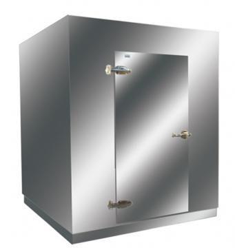 Mini-Câmara Frigorífica 1000kg Para  Congelados  Inox 3.330 Litros  - KLIMA