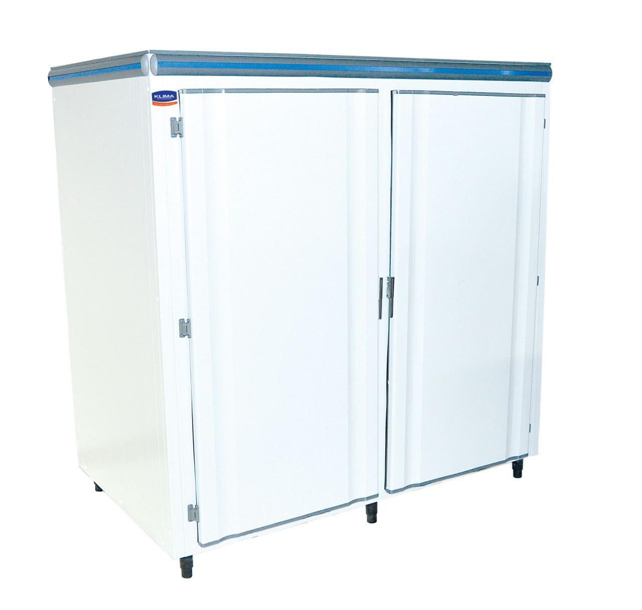 Mini-Câmara Refrigerada Inox 2 Portas 3.330 Litros Capacidade de até 1.000kg  - KLIMA