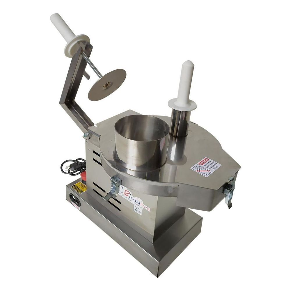 Processador De Alimentos Industrial Com 6 Discos 130 Kg/Hora Aço Inox Profissional - Fc2