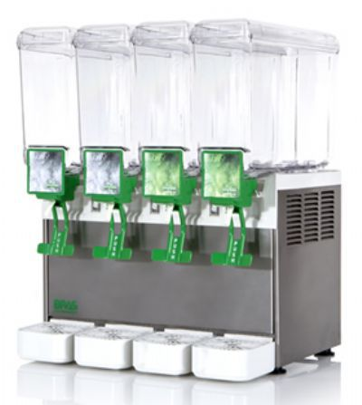 Refresqueira Compact 4 Cubas 8 Litros Cada Bras