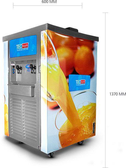 Refrêsqueira Industrial 100 Litros  2 Cuba 50 Cada Tec aply