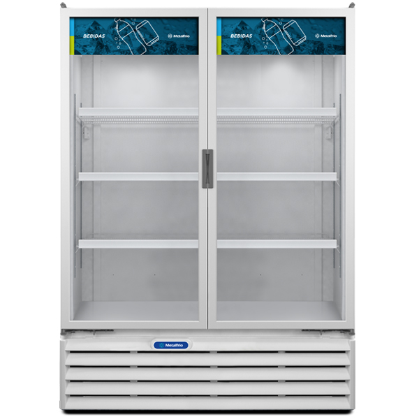 Refrigerador Expositor 2 Portas 1186 Litros VB-99 Metalfrio ( 2 Anos de Garantia )