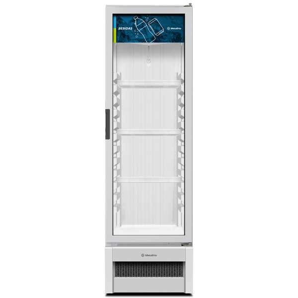 Refrigerador Expositor Slim para Bebidas 324 litros VB28R - Metalfrio